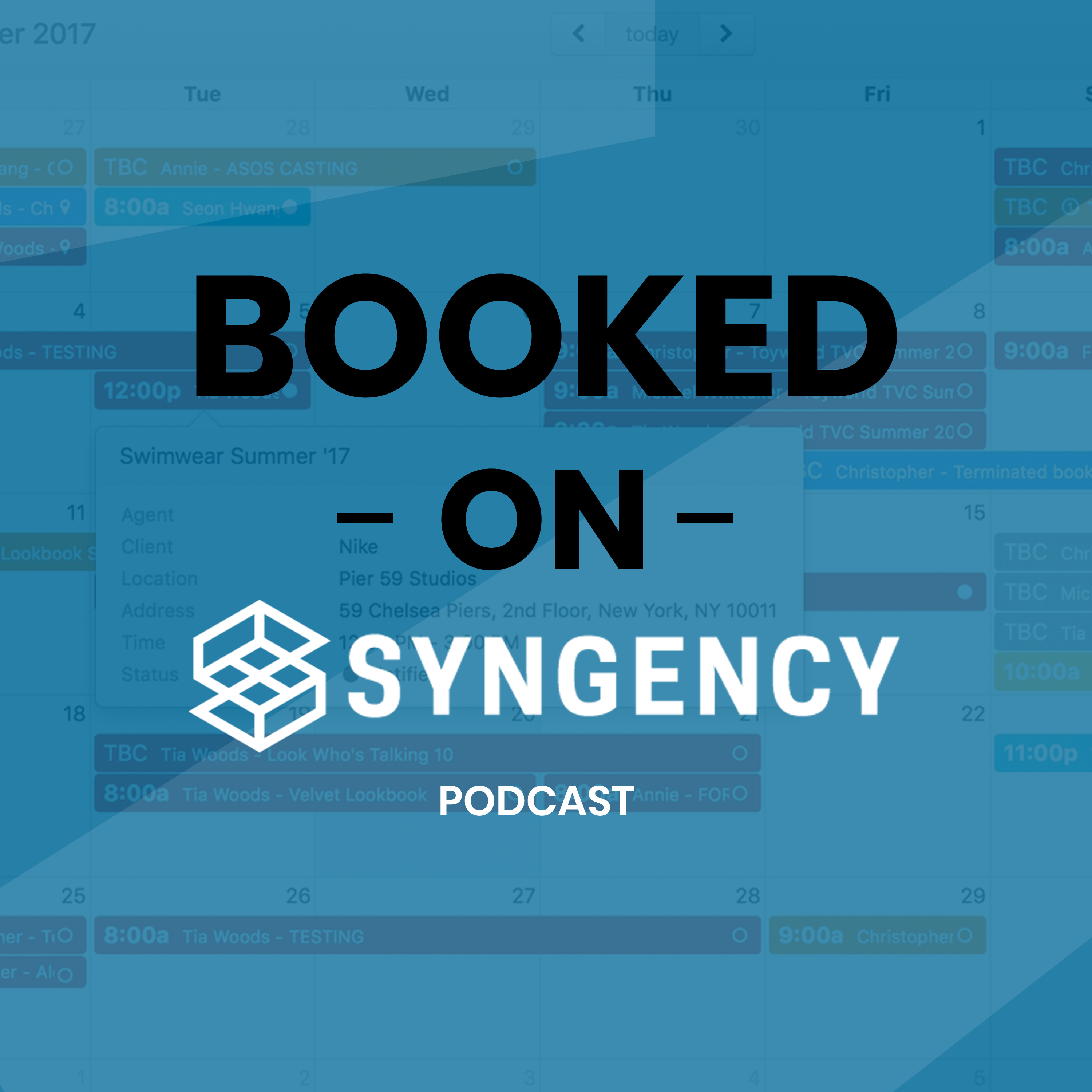 Introducing the BOOKED ON SYNGENCY Podcast!