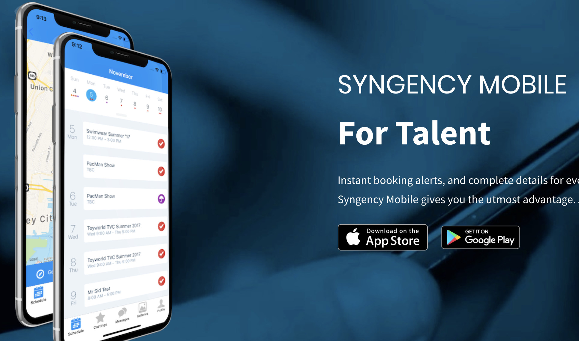 Syngency Mobile for Talent