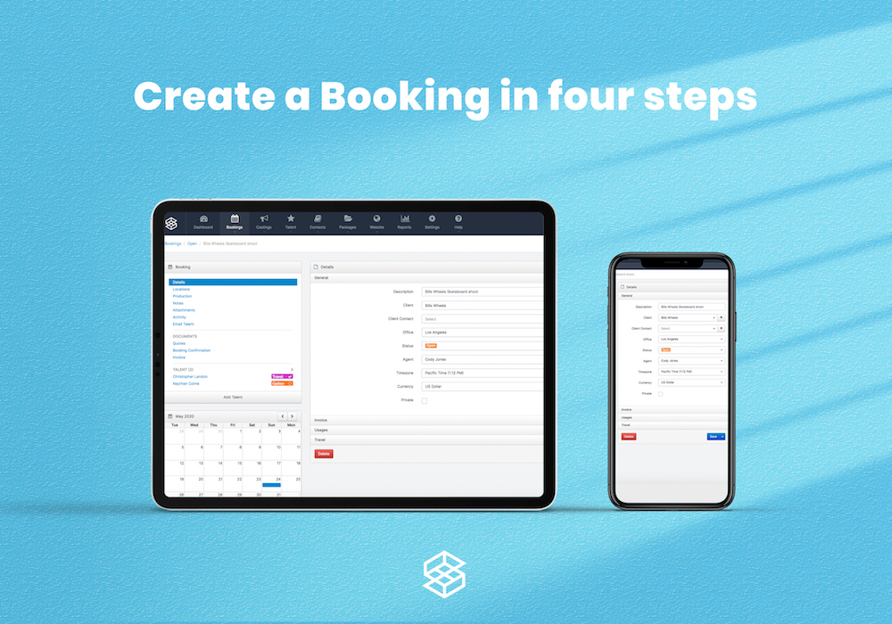 How to create a Booking in four steps